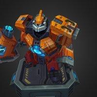 Mecha Zero Sion 3D Model