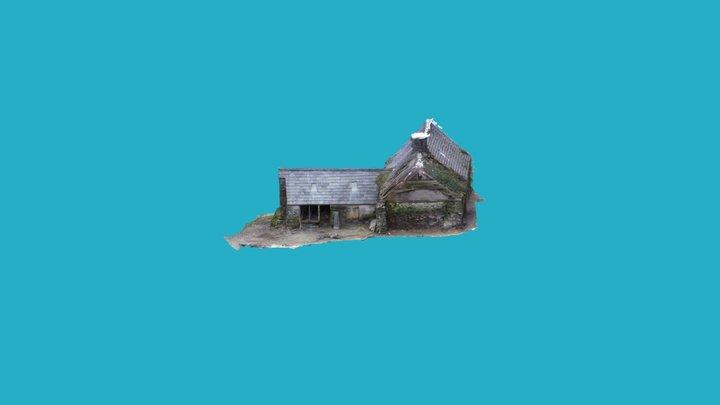 Plas Tirion Old House 3D Model