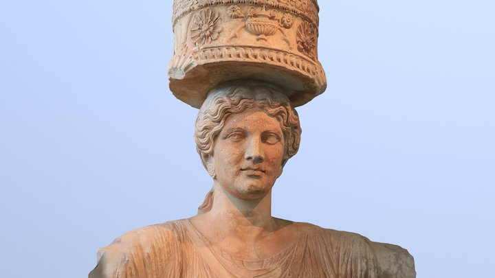 Architectural statue from Eleusis 3D Model