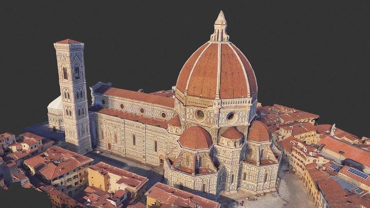 Duomo/ Cathedral Santa Maria del Fiore/ Florence 3D Model