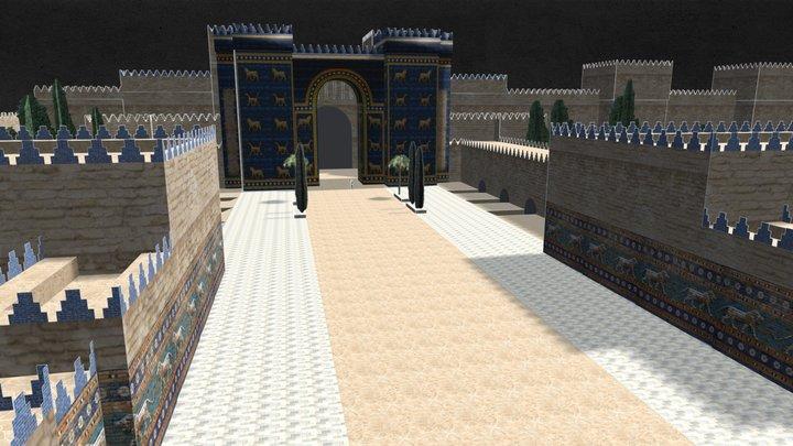 Ishtar Gate / Babylon v0.3 3D Model