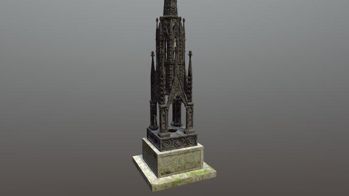 Cemetery Monument, Hull 3D Model