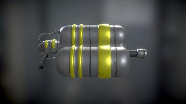 Tank Blaster 3D Model