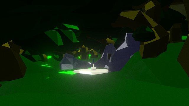 Lost Woods 3D Model