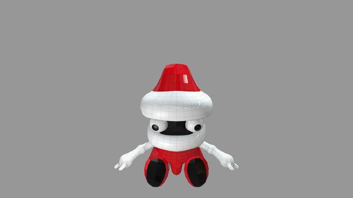 Christmas-boy 3D Model