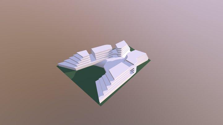 Wave 3D Model