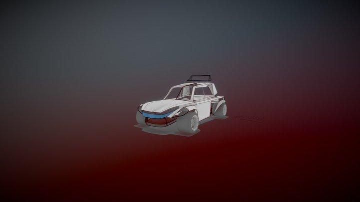 Lancia Epsilon 3D Model