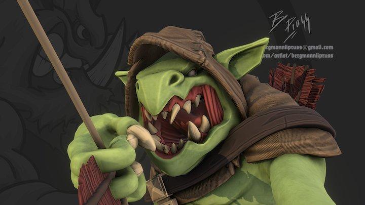 KF Goblin 3D Model