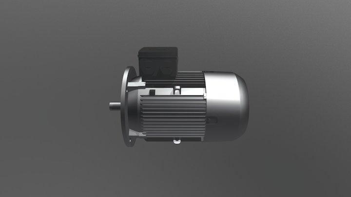 Motore Siemens 1LE1003 3D Model