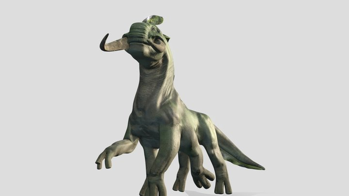 MP creature design 3D Model