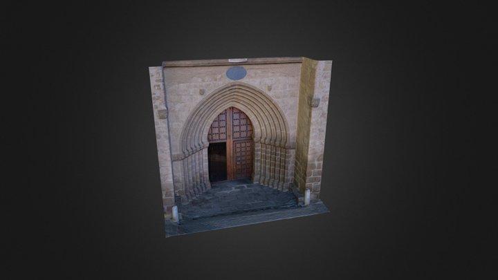 Portico Medium 3D Model