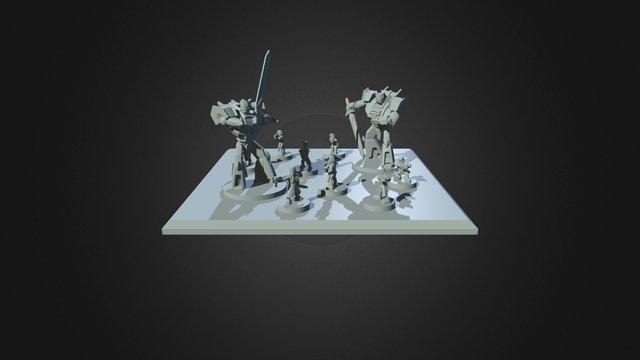 VASA CLAU Executioner Base 3D Model