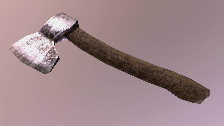 TME Tools — Iron Axe 3D Model
