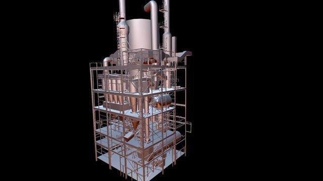 GlobeZenit - Scan 3D modelling 3D Model
