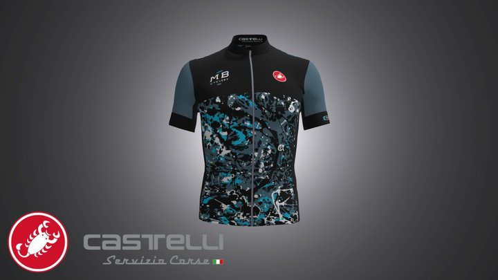 SC18112_MB CYCLERY_4300202 AERO 4.1 JERSEY 3D Model