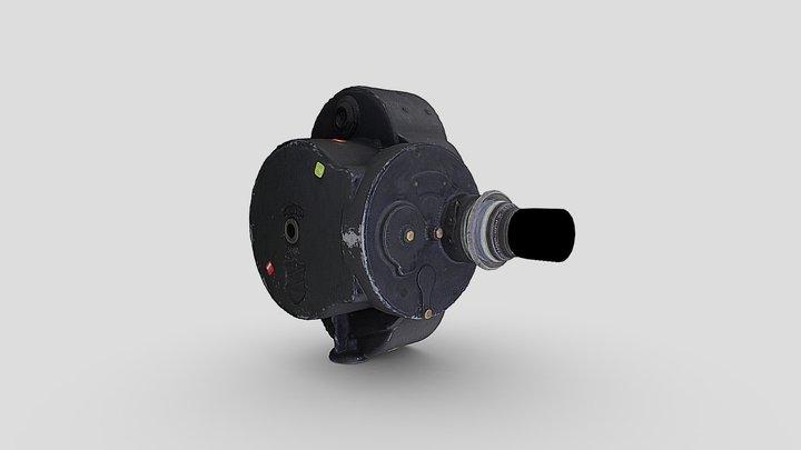 Bell-howell-key-wind-filmo-camera-model-70-a 3D Model