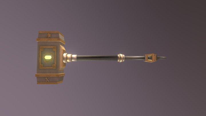 Dwarven Thrower 3D Model