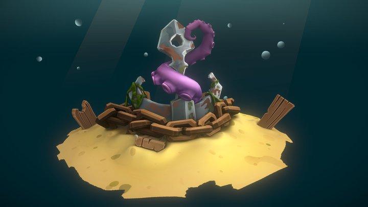 Sketchfab Sea Life Challenge - Anchors Away !!! 3D Model