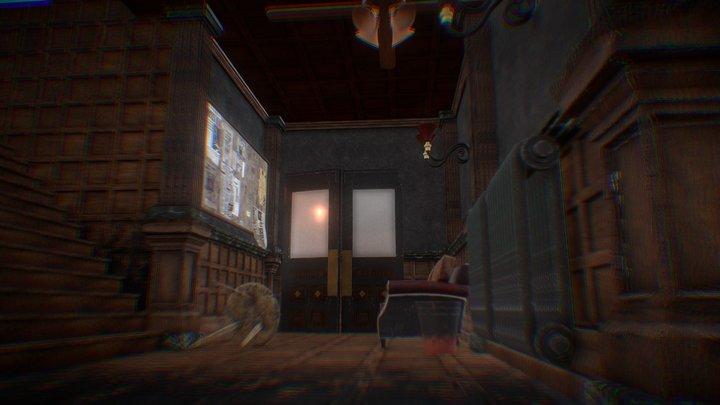 Horror Environment 3D Model