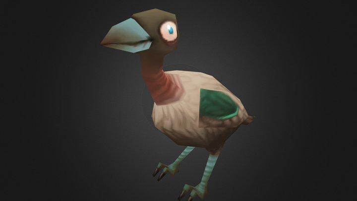 TGA - Diana Berg - Disturbing Dodo 3D Model