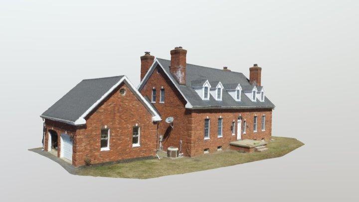 House Model New Pc Test Simplified 3d Mesh 3D Model