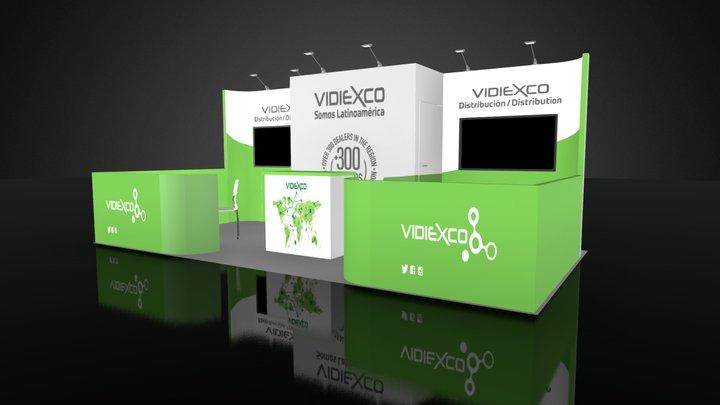 VIDEXCO 2018 3D Model