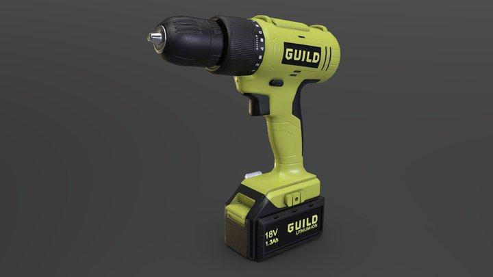 Guild drill 3D Model