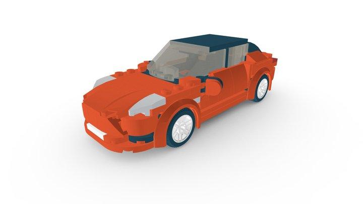 LEGO® Tesla Model S MOC 3D Model