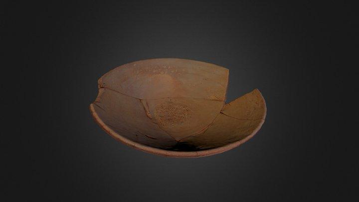 Tigela do Depósito Votivo de Garvão 3D Model