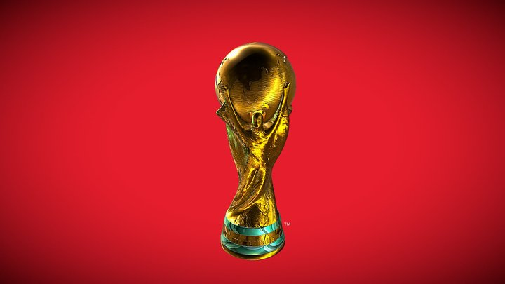 FIFA World Cup 3D Model
