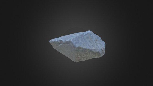 Photogrammetry Stone for games 2 3D Model