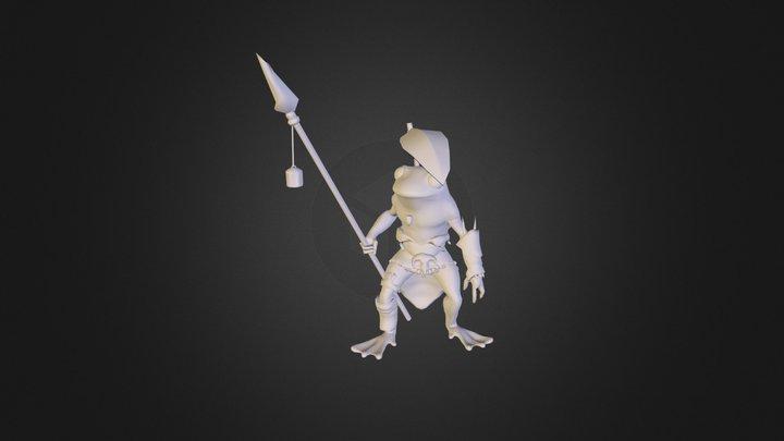 Frogforrenders 3D Model
