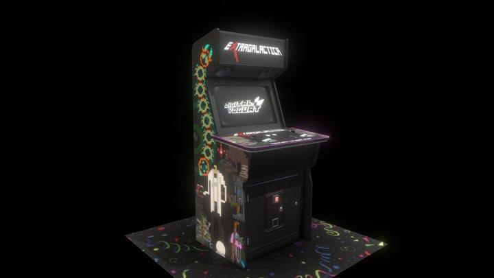Extragalactica Arcade Cab 3D Model