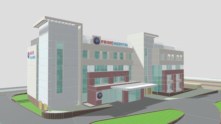 Prime Hospital, Bilaspur (OP 1B) 3D Model