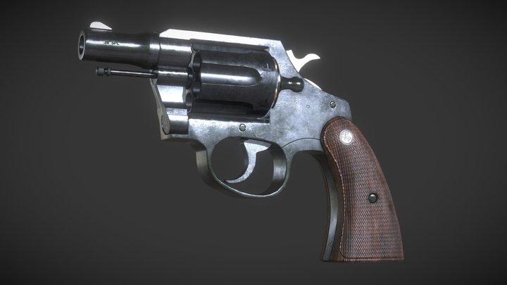 Colt Cobra .38 Special 3D Model