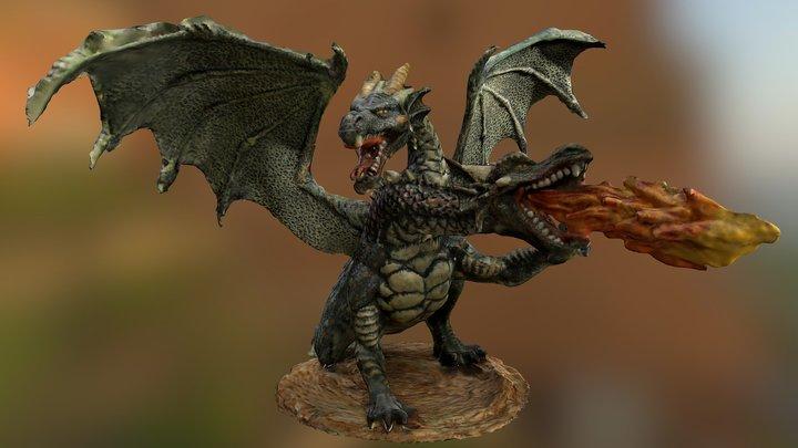 Double Dragon #3DST49 3D Model