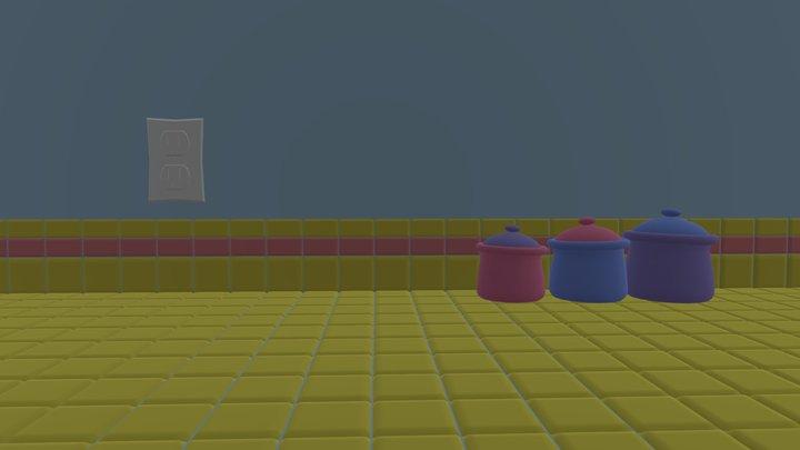 Kitchen Countertop (2010s) 3D Model