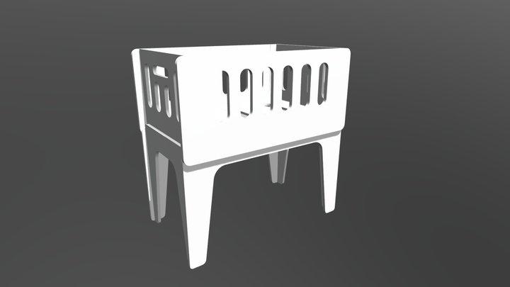 Mini Berço Anis 3D Model