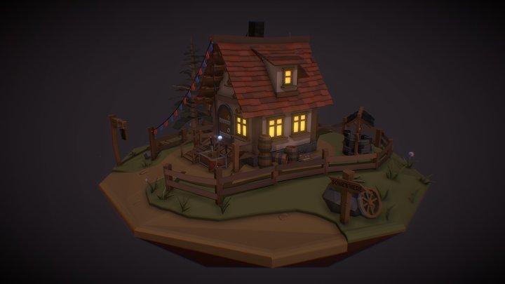 the wonderful tavern 3D Model