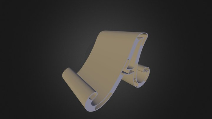 A - Letter for 3DPrint 3D Model