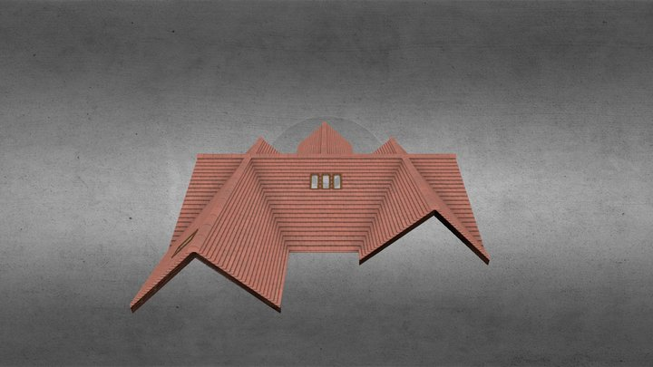 Roof exsample1 3D Model