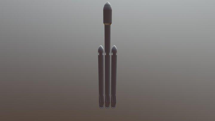 Falcon Heavy 3D Model
