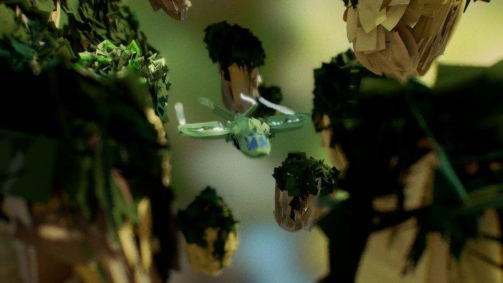 Cettl - Avatar 3D Model