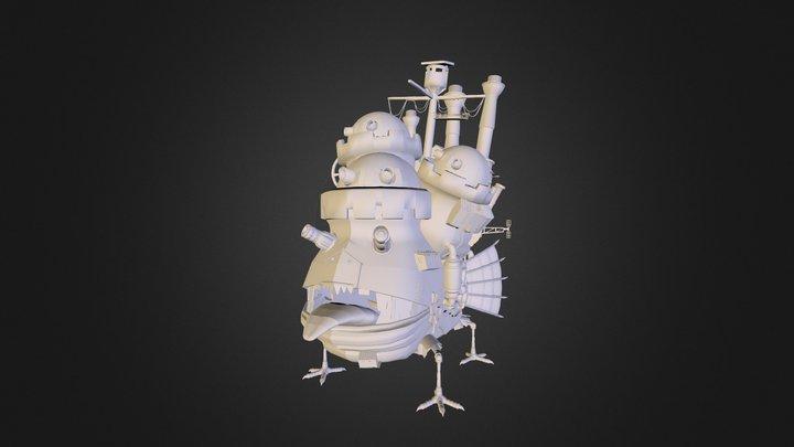 Howl's Moving Castle 3D Model