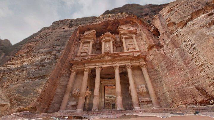 Al Khazneh - The Treasury, Petra 3D Model