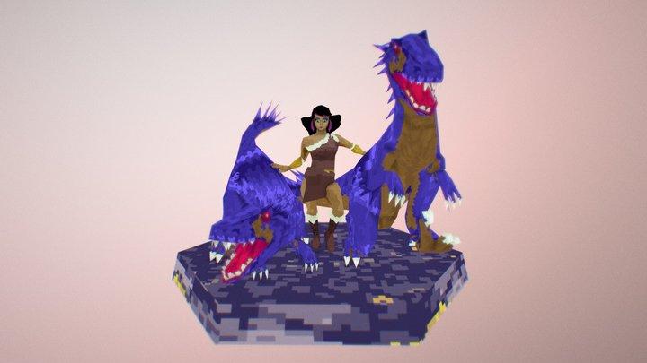 Concept Piece: The Hunt 3D Model