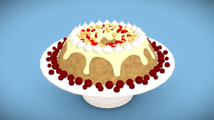 Day 4 | Fruitcake - 3December! 3D Model