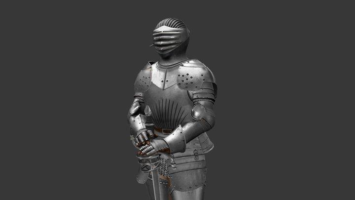 Knight Armor 3D Model