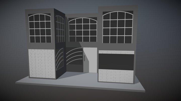 Exterior House Work 3D Model