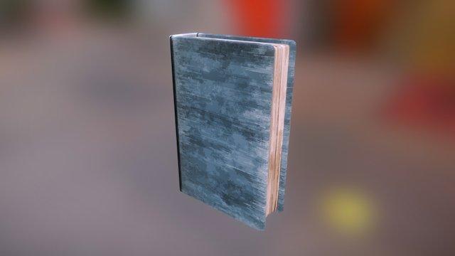 Stylized book model 3D Model